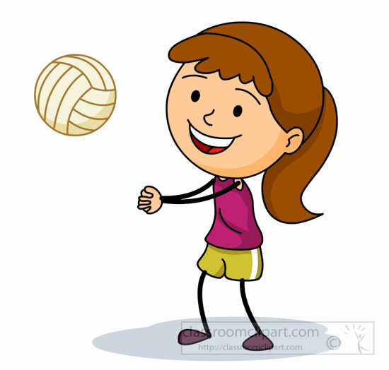 550x524 Person Playing Volleyball Clipart Amp Person Playing Volleyball Clip