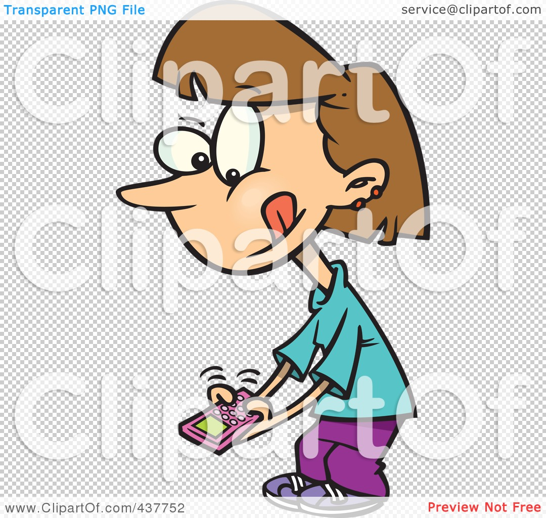 1080x1024 Royalty Free (Rf) Clip Art Illustration Of A Little Cartoon Girl