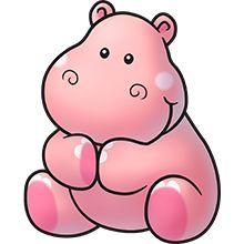 220x220 Hippo Clipart Chibi 3610996