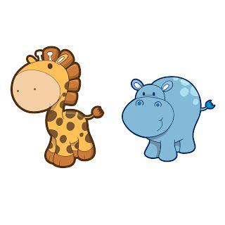 320x320 Printable Giraffe Amp Hippo Clipart Lila Giraffe