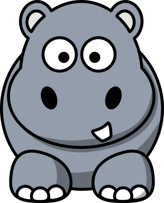 cartoon hippo clipart at getdrawings com free for personal use rh getdrawings com hippo clipart png hippo clipart sites