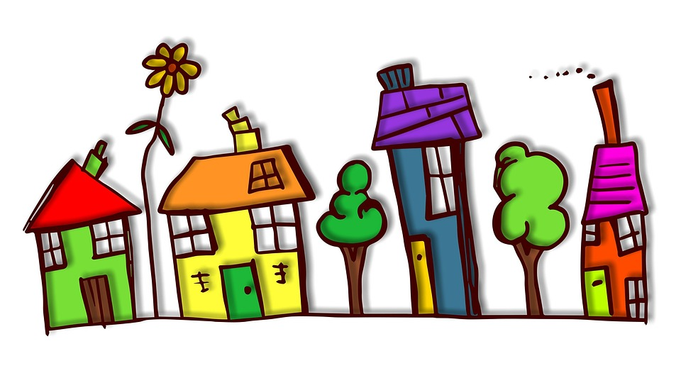 960x526 Cartoon Houses Pictures