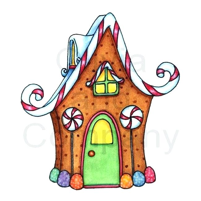 650x650 Christmas House Clip Art Holiday Cookie In Shape Of House