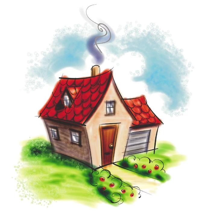 700x700 Cute Cartoon House Clipart Best, Cartoon Home