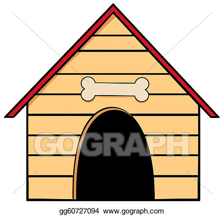 450x434 Dog In Doghouse Clipart Group