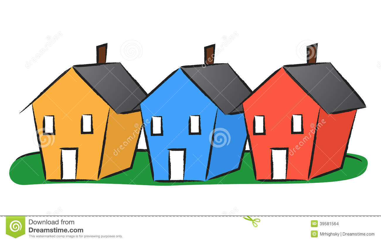 1300x826 Collection Of Row House Clipart High Quality, Free Cliparts