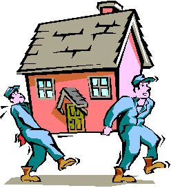 248x273 Moving House Clipart