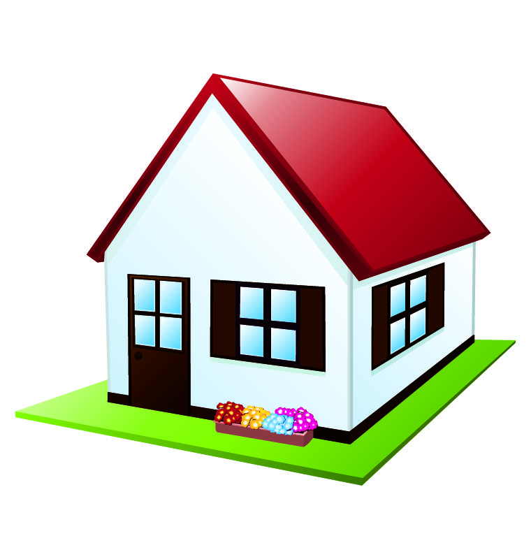 760x800 Free Cartoon House Pictures House Cartoon Vector Cartoon