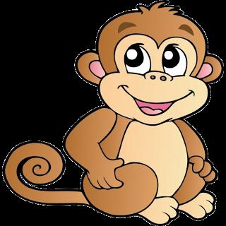 320x320 Free Monkey Clip Art Images Cute Baby Monkeys Dey All Axed