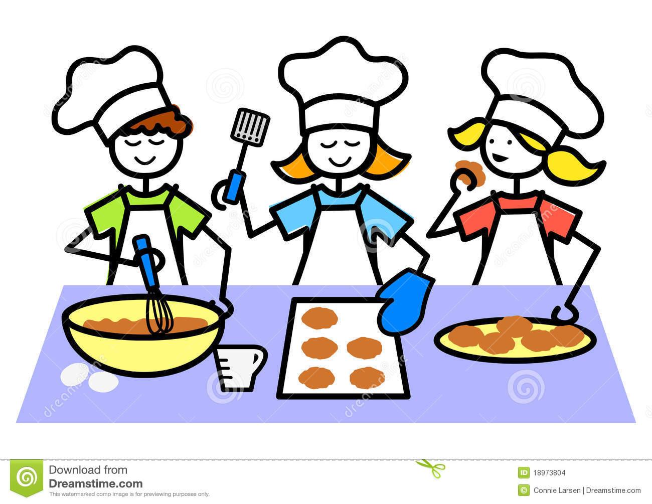 1300x1005 Cartoon Baking Clipart