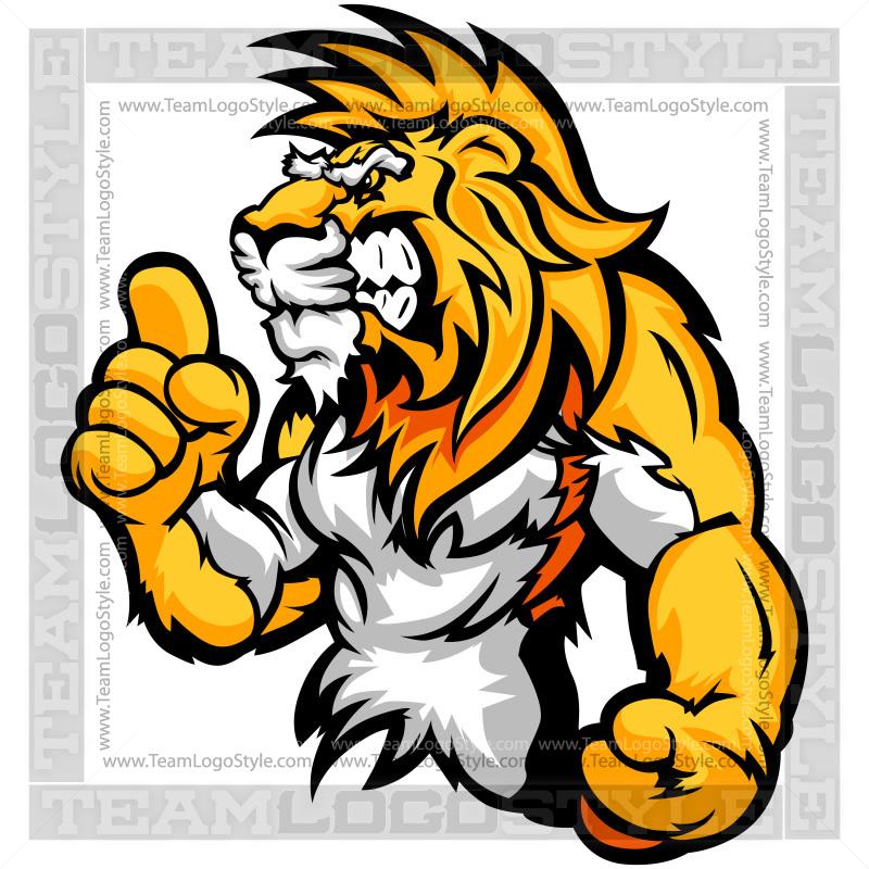 800x800 Cartoon Lion Clip Art