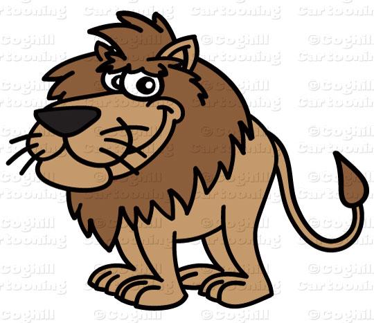 540x467 Cartoon Lion Clip Art Stock Illustration