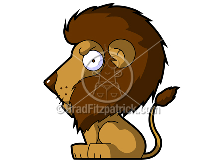 432x324 Cartoon Lion Clipart Character Royalty Free Lion Picture Licensing.