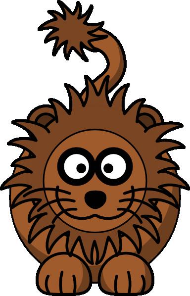 384x598 Cartoon Lion Clip Art Free Vector 4vector