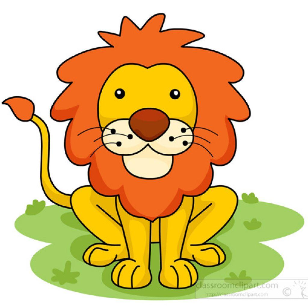 1024x1024 Free Clipart Cartoon Lion