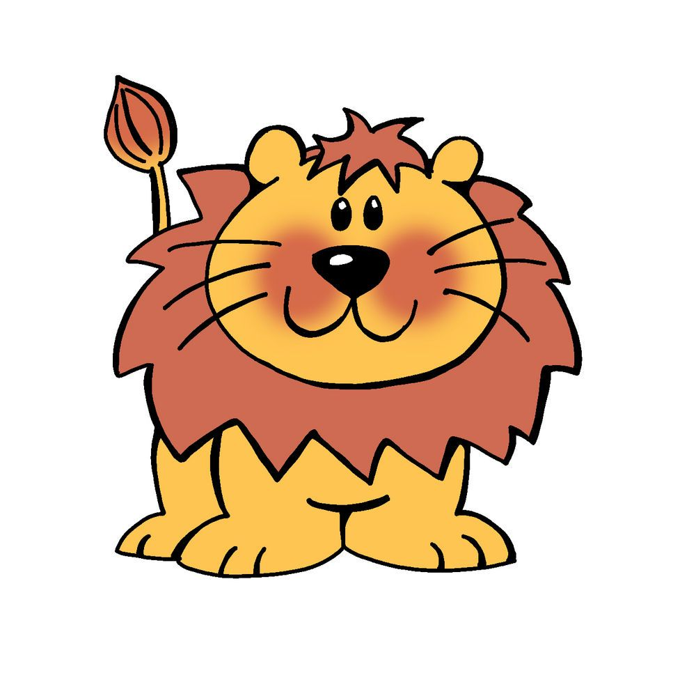 1000x986 Lion Cartoon Stock Vector Clipart Vector Illustration Of Funny