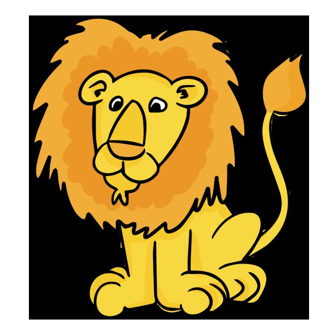 664x668 Cartoon Male Lion Clip Art Cheryl's Clipart Clip