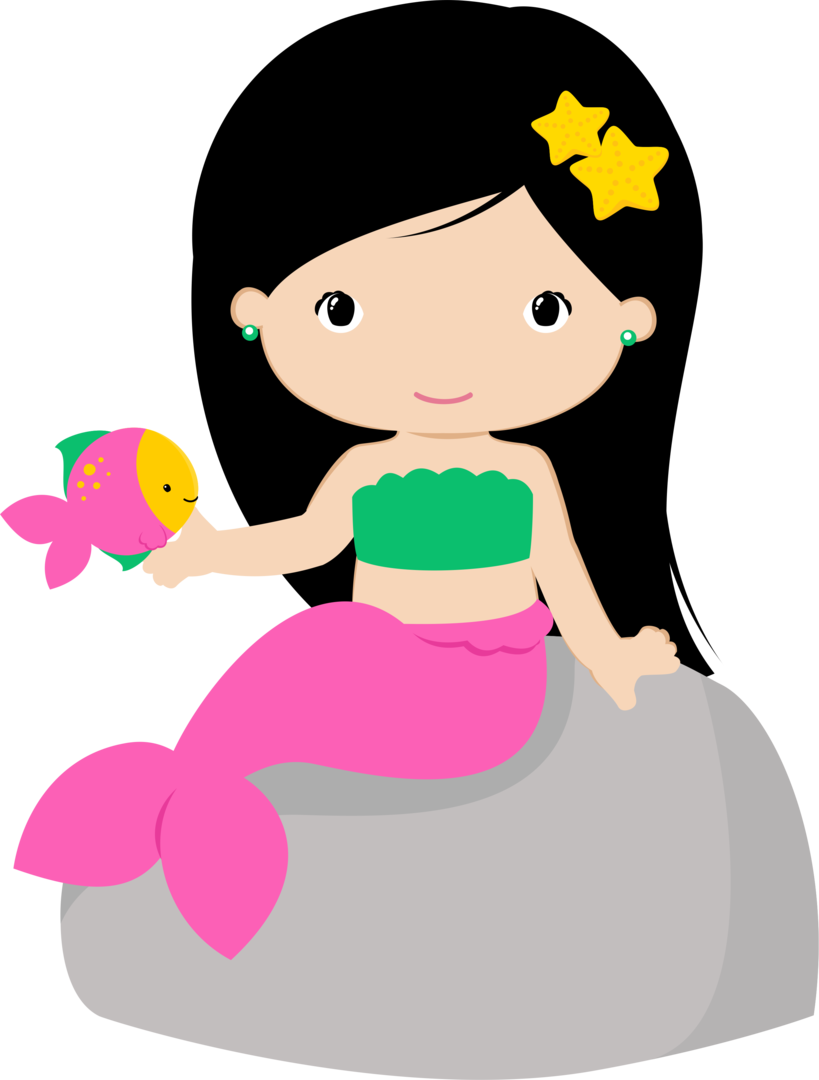 Cartoon Mermaid Clipart