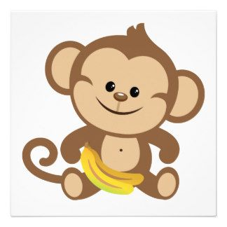 Cartoon Monkey Clipart