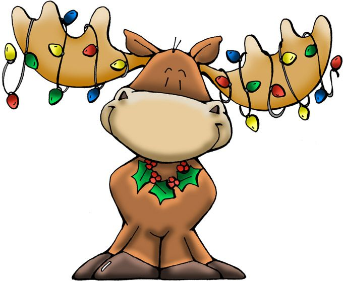 Cartoon Moose Clipart