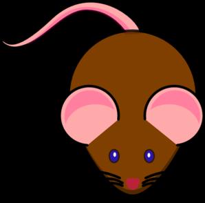 298x294 Brown Mouse Clip Art