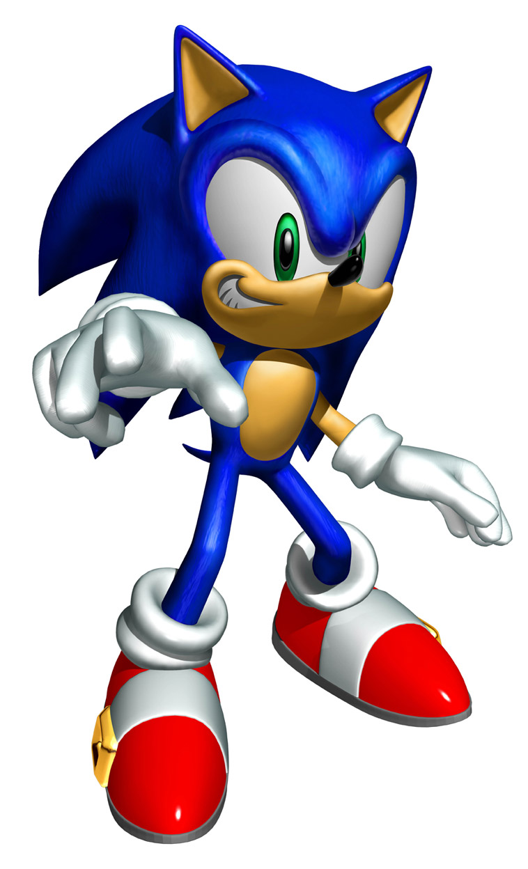 758x1248 Sonic Clipart