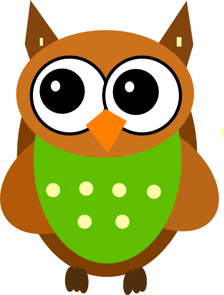 456x599 Cartoon Picture Of Owl