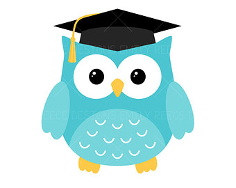 340x270 Clipart Of Owl With Graduation Cap