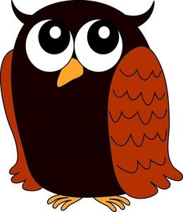 260x300 Owl Clipart Image