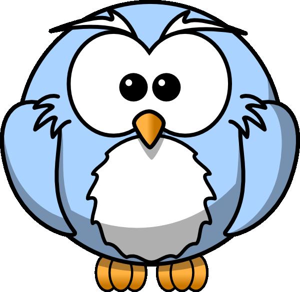 600x585 Cartoon Owl Clipart