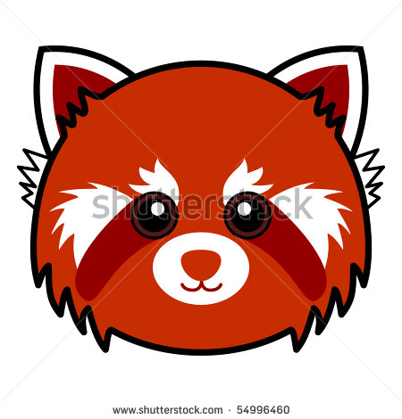 450x470 Red Panda Cartoon Clipart Panda