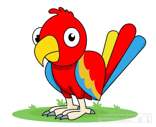 550x447 Parrot Clipart Animal Clipart Bird Clipart Red Blue Parrot Clipart