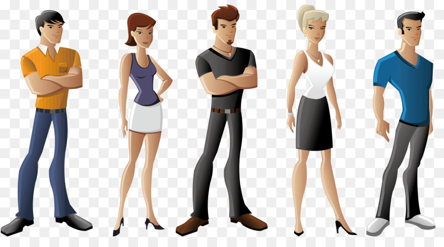 900x500 Everyday People Cartoons Drawing Clip Art