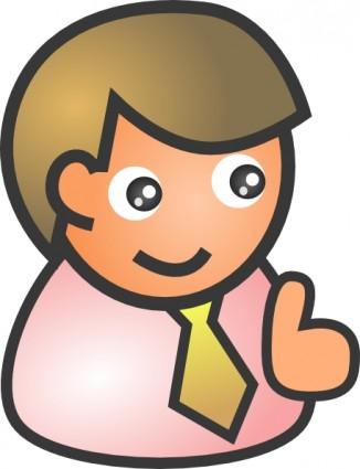 326x425 Free Cartoon People Clip Art Clip