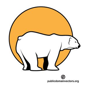 Cartoon Polar Bear Clipart