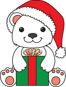 227x300 Christmas Clipart Polar Bear Free Collection Download And Share