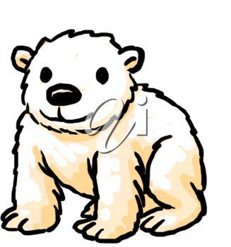 327x350 Christmas Polar Bear Clipart Free Clipart Images 3
