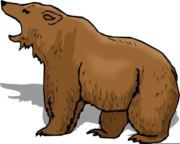 600x480 Free Cartoon Polar Bear Clipart Free Images
