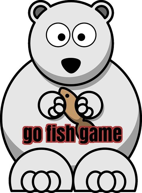 474x640 Go Fish Game Esl Resources Fish Games
