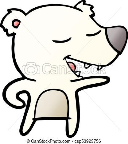 417x470 Cartoon Polar Bear Stock Illustration Images. 10,013 Cartoon Polar