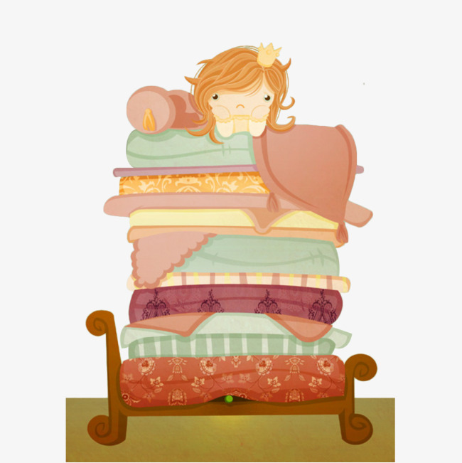 650x651 Cartoon Princess Pea, Pea Princess, Princess, Fairy Tale Png Image