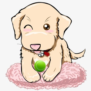 300x300 Cartoon Puppy, Puppy, Animal, Cartoon Png Image And Clipart
