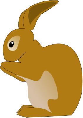 282x400 Free Rabbit Clipart
