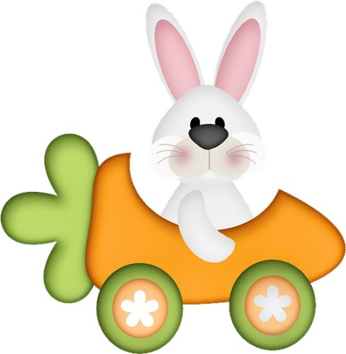 489x500 Easter Bunny Clipart Carrot