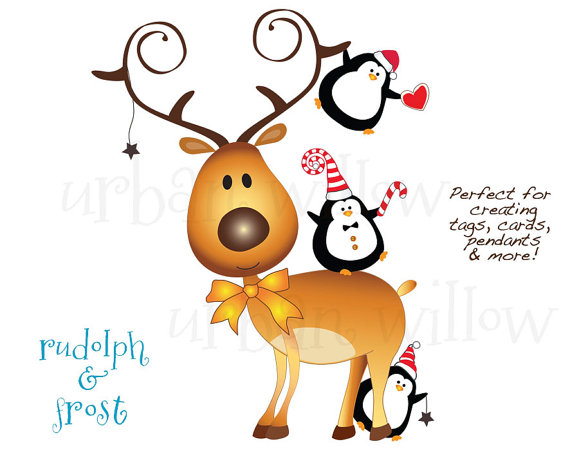 570x453 70% Off Black Friday Rudolph Clipart, Funny Penguin Clipart, Cute