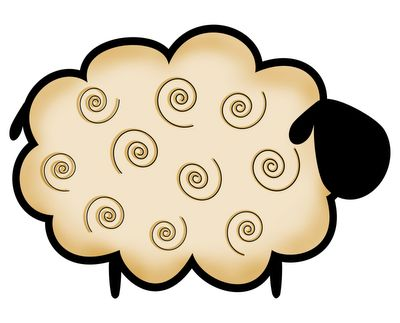 Cartoon Sheep Clipart