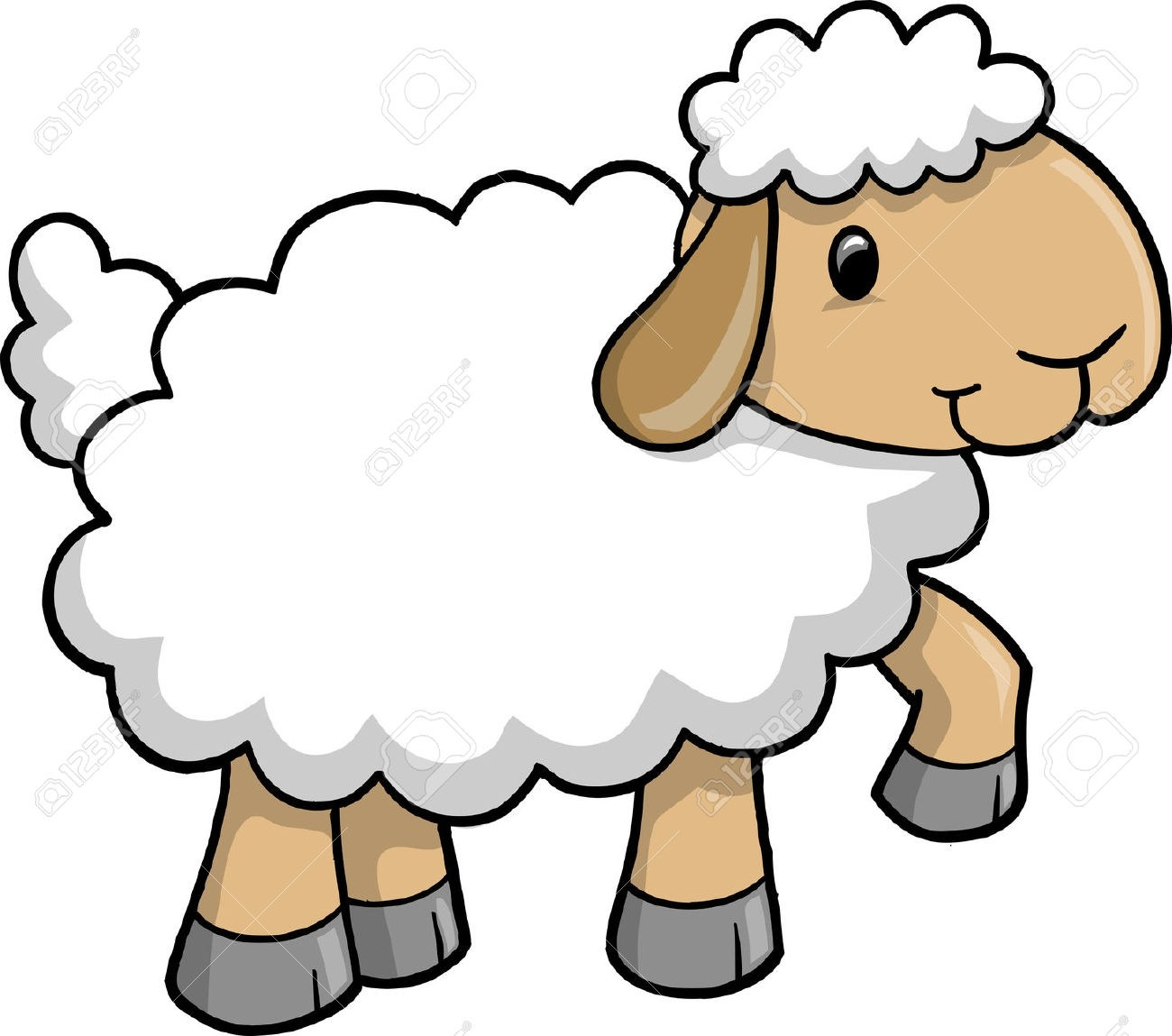 cartoon sheep clipart at getdrawings com free for personal use rh getdrawings com sheep clipart outline sheep clip art images free