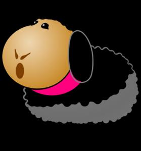 279x299 Black Sheep Clip Art