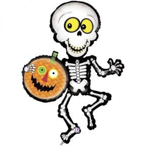 288x288 Halloween Skeleton Clipart