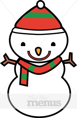 254x388 Cartoon Snowman Clipart Holiday Clipart Archive